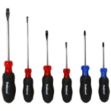 Cushion Grip Screwdriver Set