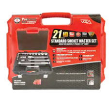 Standard Socket 21 Piece Master Set